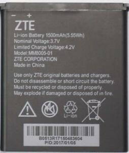 NEW OEM Original Genuine ZTE Battery MM8005-01 for Quest Uhura Quest N817