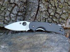 Spyderco - C123CFP Sage CARBON FIBER CPM-S30V knife 1 Michael Walker design EDC