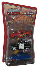 Disney Pixar Cars Die-Cast Vehicle Toy Car Set - (Sheriff / Doc Hudson Dirt Tra