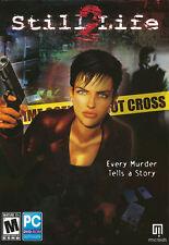 STILL LIFE 2 Murder Mystery Adventure Game NEW in BOX!