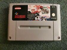 SNES Nintendo PAL gioco Super SOLO CARTUCCIA NFL QUARTERBACK CLUB 96