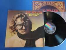 JOE WALSH  SO WHAT Rare MCA UK LP EX+ VINYL