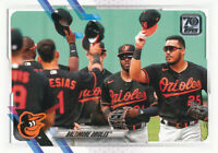 2021 Topps Series 1 #195 Baltimore Orioles Team Card
