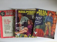 MASTER DETECTIVE NOV 1962 REAL POLICE STORIES NUM 53 & 59 RARE VINTAGE MAGAZINES