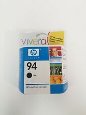 HP 94 Black Ink C8765WN New Genuine Sealed Exp 08/2007
