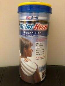 Be Well Moist Heat Round Pad for natural Pain Relief