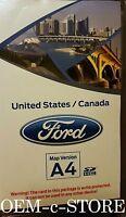 2011 2012 2013 2014 Ford Explorer EDGE MyFord Navigation SD CARD Map A4 Update