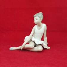 More details for nao by lladro - seated ballet figurine