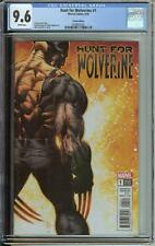 HUNT FOR WOLVERINE #1 CGC 9.6 MIKE DEODATO JR VARIANT COVER
