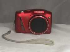 Canon PowerShot SX150 IS 14.1MP Digital Camera RED W/ 16gb Card