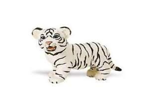 White Bengal Tiger Baby 2 3/8in Series Wild Animals Safari ltd 295029