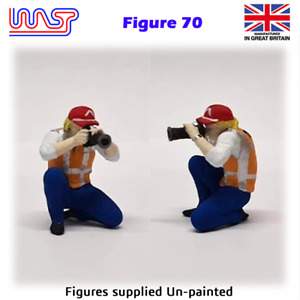 Trackside Figure Scenery Display No 70 New 1:32 Scale WASP