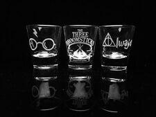 Harry Potter Shot Glass Set - Set of 3-