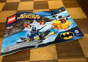 LEGO Batman : The Penguin Face Off Instructions Manual ONLY Booklet