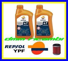 Kit Tagliando YAMAHA X-CITY 125 11>12 Filtro Olio REPSOL 10W40 2011 2012 XCITY