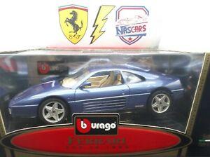 1/18 Ferrari 348 TB 1989 violet Bburago