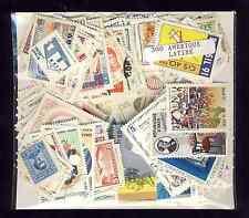 Amérique du Sud 300 timbres différents oblitérés tous pays