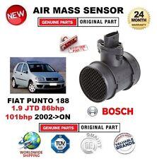 PER FIAT PUNTO 188 1.9 JTD 86bhp 101bhp 02 in POI SENSORE MASSA ARIA in CUSTODIA