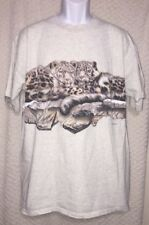 90's Vintage Habitat Duo Tigers t-shirt size adult Xl by Hl Miller, pre-owned