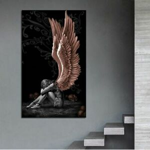 Angel Painting Canvas Wall Modern Art Picture Living Room Office Home Decoration