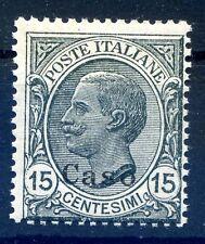 ISOLE EGEO  CASO    1921 -  Centesimi  15  NUOVO **