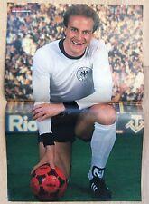 BRAVO POSTER Karl-Heinz Rummenigge - 80er Jahre !!!