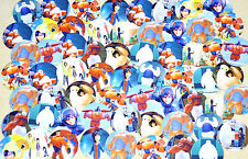 "SET of 62 1"" PRECUT ""BIG HERO 6"" Bottle Cap Images! Hairbows & Scrapbooking!"