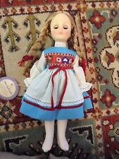 "EFFANBEE DOLL 1970'S  MISS HOLLAND 11"" ORIGINAL TAGS, NO SHOES OR HAT"