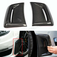 Carbon Fiber Bumper Side Air Vent Cover For Mercedes Benz W204 C63 AMG  KN! HL