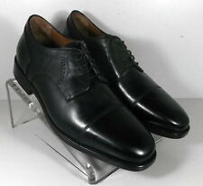 902c0d3912c 152431 MS50 Men s Shoes Size 9 M Black Leather Lace Up Johnston Murphy