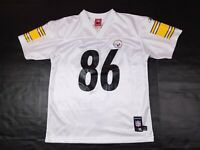 Hines Ward #86 Pittsburgh Steelers NFL White Jersey Kids Youth Size XL 18-20