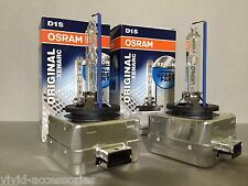 NEW OEM 2PCS OSRAM XENARC D1S 66144 ORIGINAL 5000K HID XENON LIGHT BULBS