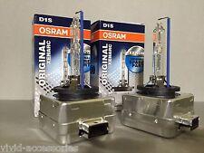 2X NEW OEM 2PCS OSRAM XENARC D1S 66144 ORIGINAL 6000K HID XENON LIGHT BULBS
