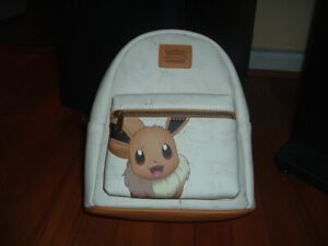 LOUNGEFLY POKEMON EEVEE MINI BACKPACK~ WITH TAGS~BRAND NEW~