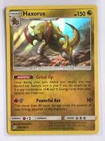 Haxorus HOLO RARE 156/236 Pokemon SM Unified Minds NM Card TCG Foil