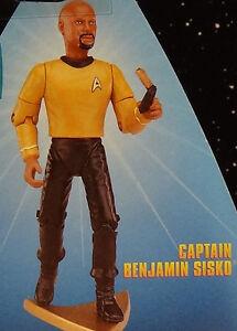 "Comm Benj Sisko FUZZY Tribble - ations 5"" Warp 1 Playmates 97 Star Trek DS9 MOC"