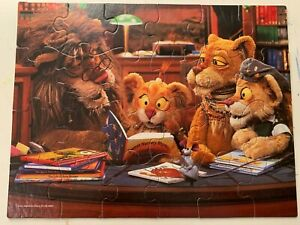 Between the Lions Mattel Jigsaw Puzzle Get Wild About Reading 24 Pieces Ages 3-7