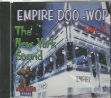 EMPIRE DOO-WOP  - CD - Vol. 1 - The New York Sound - BRAND NEW