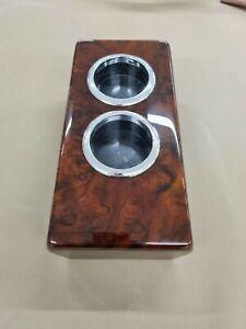 Mercedes Benz cup holder for R107 wood cupholder burled walnut Slc sl