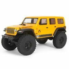 Axial AXI00002T2 1/24 SCX24 2019 Jeep Wrangler JLU CRC Rock Crawler 4WD RTR - Yellow