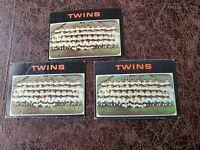 (3) 1971 TOPPS Baseball Minnesota Twins Team Card #522 - Rod Carew