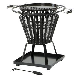 Lifestyle Signa firebasket with BBQ grill - LFS703