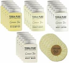 Terra Pure Green Tea, Hotel Size Amenities Set, VRBO/Vacation Rental, 25 PC