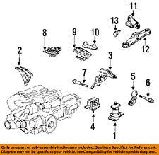 Acura HONDA OEM 92-94 Vigor-Engine Motor Mount Torque Strut 50810SW3003