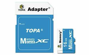 Micro SD Card SDHC SDXC Memory Card TF Class 10 16GB 32GB 64GB 128GB SD Adapter