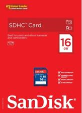 SanDisk 16Gb Sd Hd Card Sdhc Memory Card Class 4 16 Gb For Digital Cameras Video