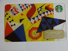 2014 - Kites - Holiday Issue Starbucks Card - New & Never Swiped