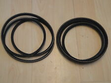 TITAN PRO BEAVER CHIPPER Petrol Wood Chipper pair replacement drive belts B41B42