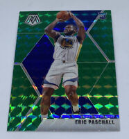 2019-20 Mosaic Eric Paschall Green Prizm Mosaic Rookie RC Warriors #250