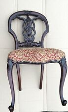 New Traditional Style Antique Replica Solid Mahogany Dining Chair